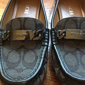 Coach Shoes - Coach women loafers moccasins flats authentic sz7